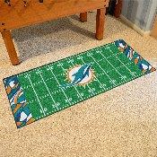 NFL - Miami Dolphins XFIT Football Field Runner 30