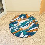 NFL - Miami Dolphins XFIT Roundel Mat 27