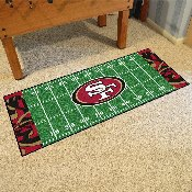 NFL - San Francisco 49ers XFIT Football Field Runner 30