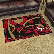 NFL - San Francisco 49ers XFIT 4x6 Rug 44
