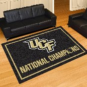 University of Central Florida 5x8 Rug 59.5