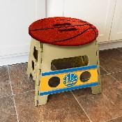 NBA - Golden State Warriors Folding Step Stool 14x13