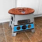 NFL - Carolina Panthers Folding Step Stool 14x13
