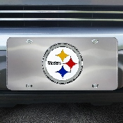 NFL - Pittsburgh Steelers Diecast License Plate