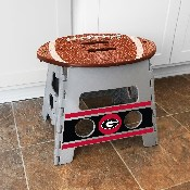 University of Georgia Folding Step Stool 14x13