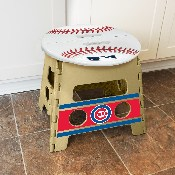 MLB - Chicago Cubs Folding Step Stool 14x13