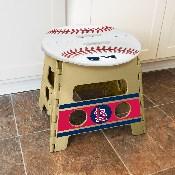 MLB - St Louis Cardinals Folding Step Stool 14x13