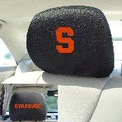 Syracuse University Head Rest Cover 10Inchx13Inch - 2 Pcs Per Set