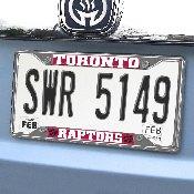 NBA - Toronto Raptors License Plate Frame 6.25