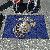 Marines 3D Logo Ulti-Mat 5'x8'