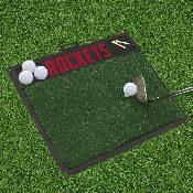 NBA - Houston Rockets Gold Hitting Mat 20 x 17