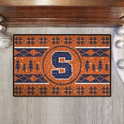 """Syracuse University Holiday Sweater Starter 19""""x30"""""""