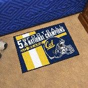 University of California - Berkeley Dynasty Starter Mat 19