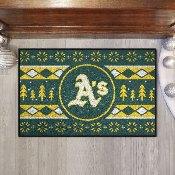 MLB - Oakland Athletics Holiday Sweater Starter 19