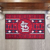 MLB - St. Louis Cardinals Holiday Sweater Starter 19