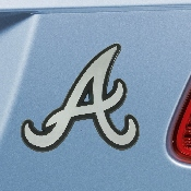 MLB - Atlanta Braves Chrome Emblem 3