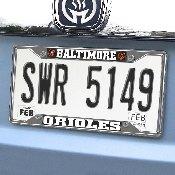 MLB - Baltimore Orioles License Plate Frame 6.25