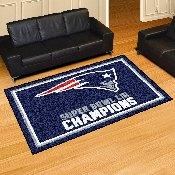 Super Bowl LII Champions Area Rug 5'x8'