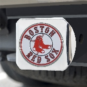 MLB - Boston Red Sox Color Hitch - Chrome 3.4