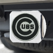 MLB - Chicago Cubs Hitch Cover - Chrome 3.4