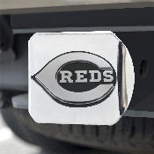 MLB - Cincinnati Reds Hitch Cover - Chrome 3.4