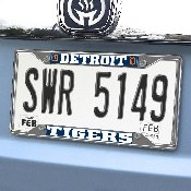 MLB - Detroit Tigers License Plate Frame 6.25