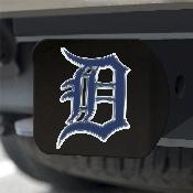 MLB - Detroit Tigers Color Hitch - Black 3.4