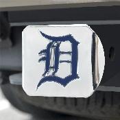MLB - Detroit Tigers Color Hitch - Chrome 3.4