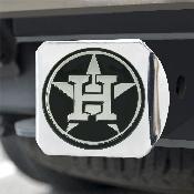 MLB - Houston Astros Hitch Cover - Chrome 3.4