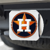 MLB - Houston Astros Color Hitch - Chrome 3.4