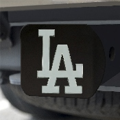 MLB - Los Angeles Dodgers Hitch Cover - Black 3.4