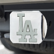 MLB - Los Angeles Dodgers Hitch Cover - Chrome 3.4