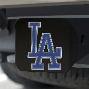 MLB - Los Angeles Dodgers Color Hitch - Black 3.4
