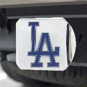 MLB - Los Angeles Dodgers Color Hitch - Chrome 3.4