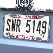 MLB - Minnesota Twins License Plate Frame 6.25