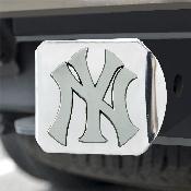 MLB - New York Yankees Hitch Cover - Chrome 3.4