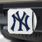 MLB - New York Yankees Color Hitch - Chrome 3.4