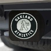MLB - Oakland Athletics Hitch Cover - Black 3.4