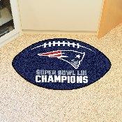 Super Bowl LII Champions Football Mat 22