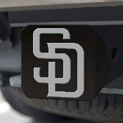 MLB - San Diego Padres Hitch Cover - Black 3.4