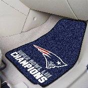 Super Bowl LII Champions 2-piece Carpeted Cat Mats 18