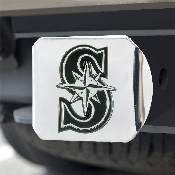 MLB - Seattle Mariners Hitch Cover - Chrome 3.4