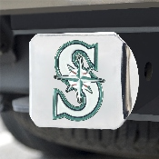 MLB - Seattle Mariners Color Hitch - Chrome 3.4