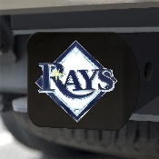 MLB - Tampa Bay Rays Color Hitch - Black 3.4