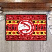 NBA - Atlanta Hawks Holiday Sweater Starter Mat 19