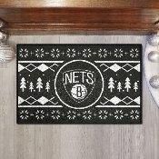 NBA - Brooklyn Nets Holiday Sweater Starter Mat 19