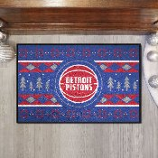 NBA - Detroit Pistons Holiday Sweater Starter Mat 19