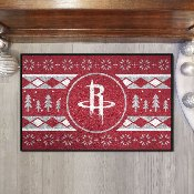 NBA - Houston Rockets Holiday Sweater Starter Mat 19