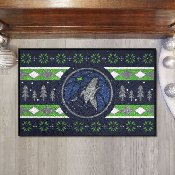 NBA - Minnesota Timberwolves Holiday Sweater Starter Mat 19