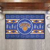 NBA - New York Knicks Holiday Sweater Starter Mat 19